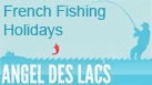 Angel Des Lacs - Fantastic fishing lakes in the beautiful French countryside